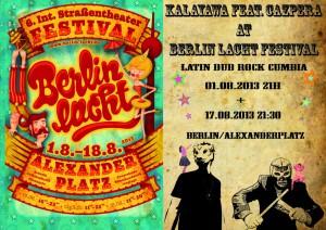 Berlinlacht - Alexanderplatz Kalayawa feat. Cazpera
