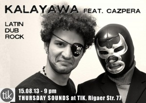 Thursday sounds like Kalayawa feat. Cazpera.